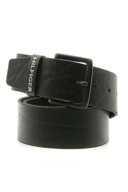 Tommy Hilfiger ORIGINAL LOGO BELT 4.0 Black