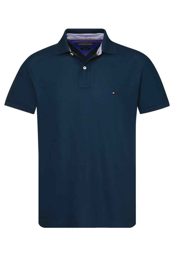 Tommy Hilfiger Regular Polo Dark Denim
