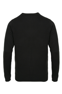 Tommy Hilfiger Cotton Silk Pullover Black