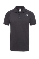 The North Face S/S Polo Dark Grey
