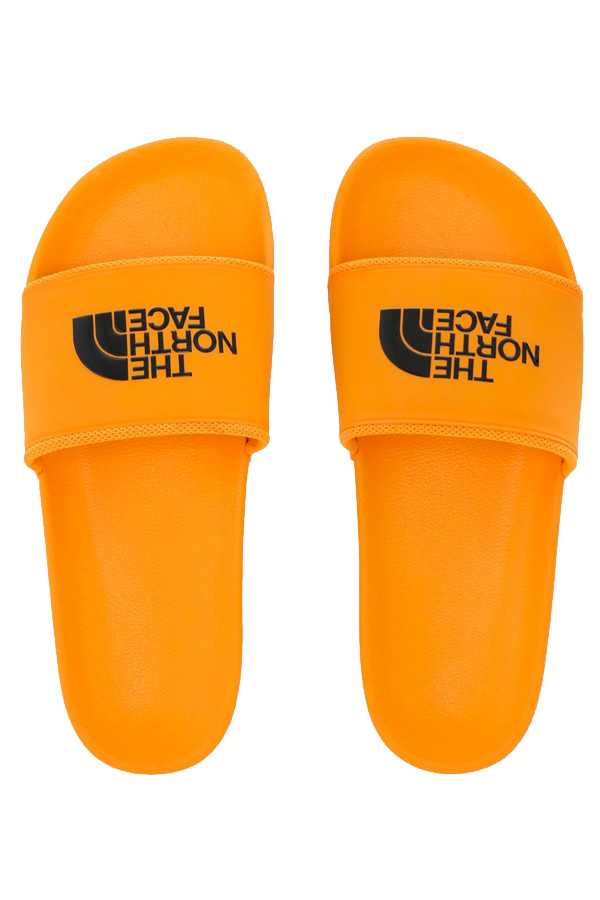 The North Face Logo Slides Orange