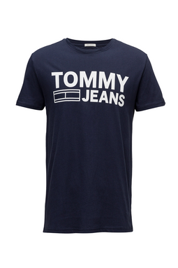 Tommy Jeans Essential Logo Tee Iris