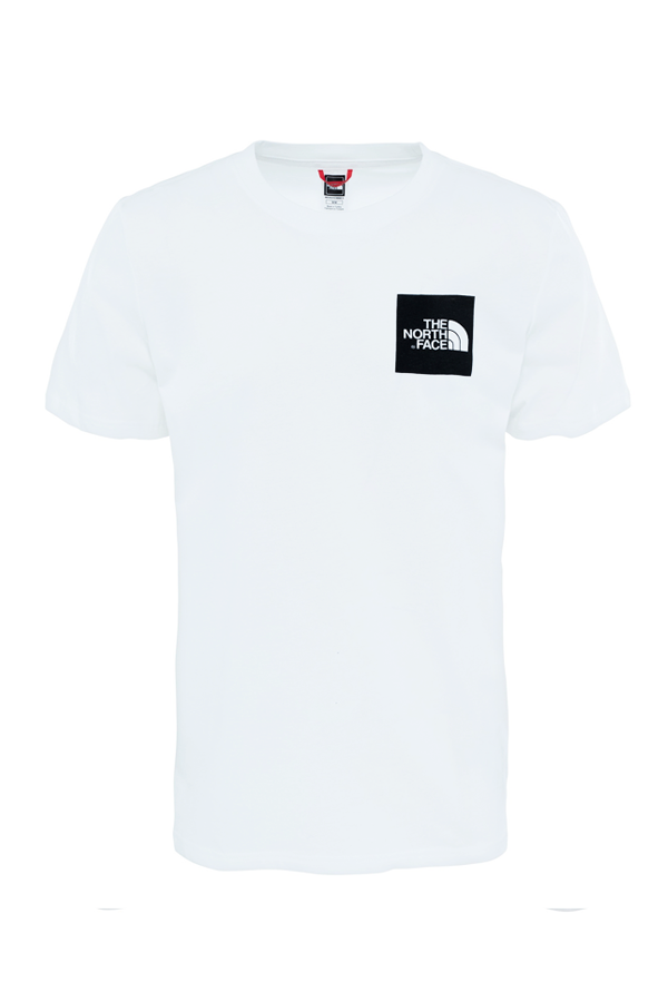 the north face the north face s/s fine tee white - s