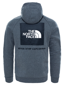 The North Face Box Logo Hoodie Melange