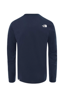 The North Face L/S Simple Dome Tee Urban Navy