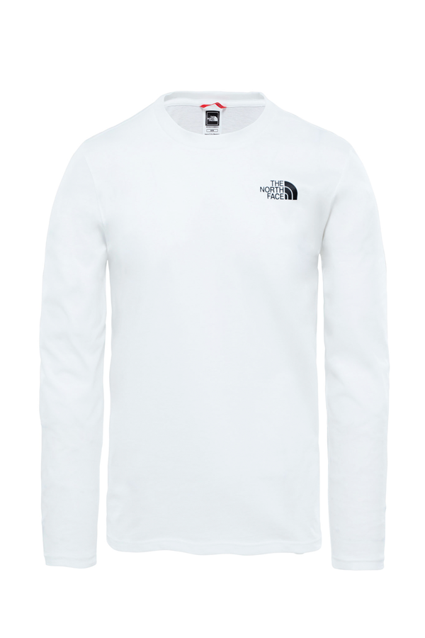 The North Face L/S Easy Tee White