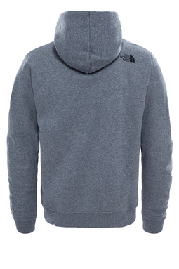 The North Face Fullzip Hoodie Grey