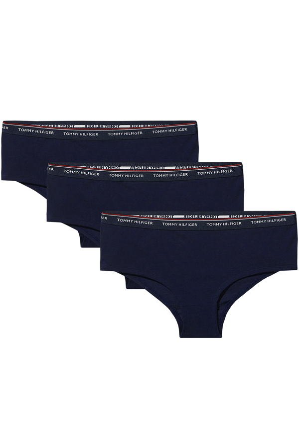 Tommy Hilfiger Women Shorty 3-Pack Navy