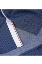 Tommy Hilfiger Slim Fit Pattern Shirt Navy
