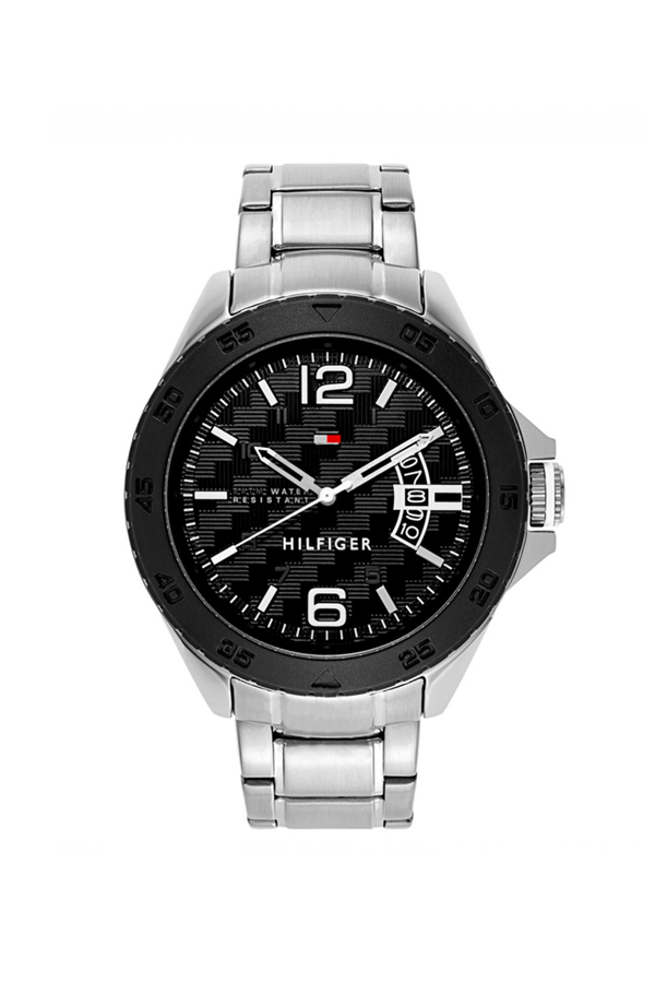 Tommy Hilfiger Steel Watch 1791206 Black