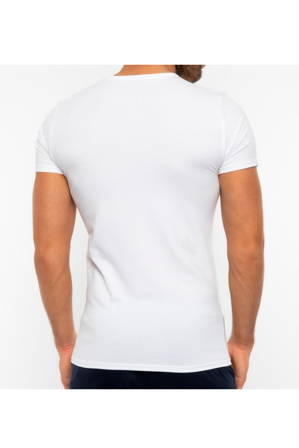 Tommy Hilfiger Premium Essentials 3-Pack V-Neck Tee White