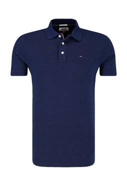 Tommy Jeans Oxford Polo Navy