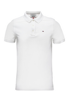 Tommy Hilfiger Fine Polo White