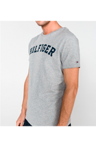 Tommy Hilfiger S/S Logo Tee Grey