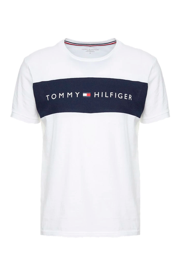 Tommy Hilfiger Colorblock Logo S/S Tee White