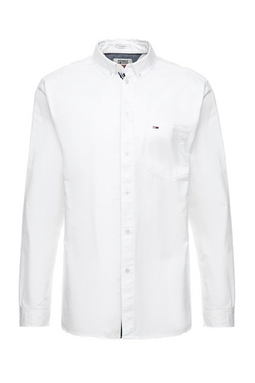 Tommy Jeans Solid Shirt White