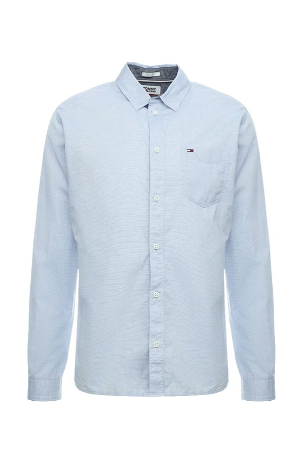 Tommy Jeans Solid Shirt Blue Sapphire