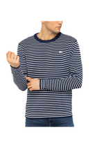Tommy Jeans Stripe Pullover Navy