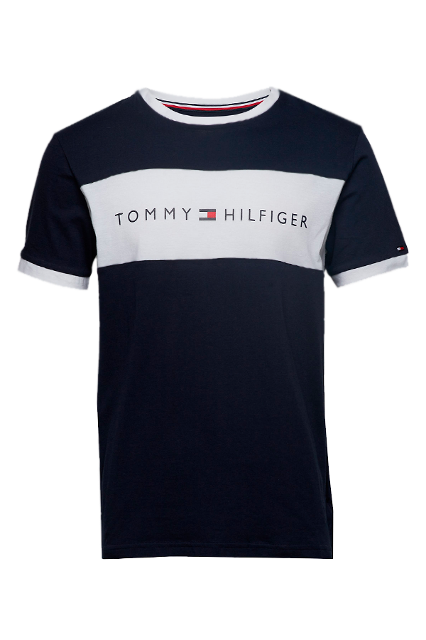 Tommy Hilfiger Colorblock Logo S/S Tee Navy