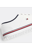 Tommy Hilfiger Signature Lace-Up Sneaker White