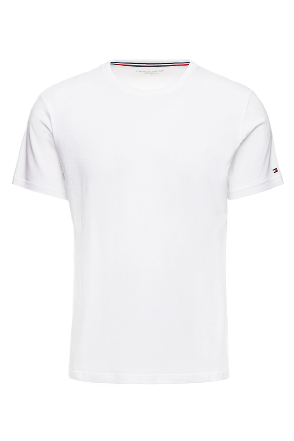 Tommy Hilfiger Side Logo S/S Tee White
