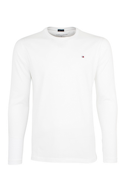 Tommy Hilfiger CN L/S Tee White