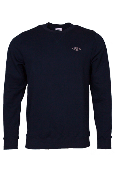 Image of   Umbro Classic Crew Sweater Navy - S