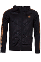 Umbro Retro Graphic Hoodie Black