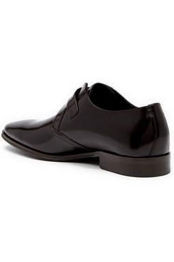 Versace Buckle Loafer Black