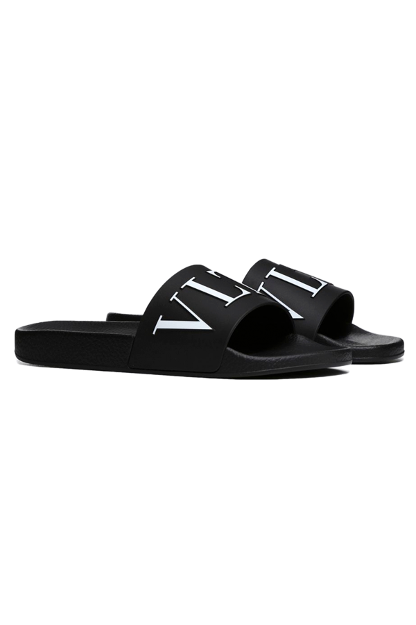 Image of   Valentino VLTN Logo Slides Black - 39