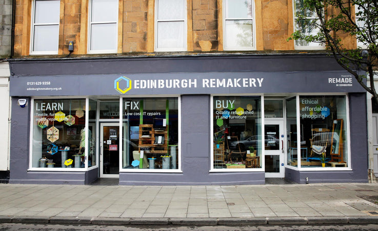 Curiouser Guide to Edinburgh: The Edinburgh Remakery