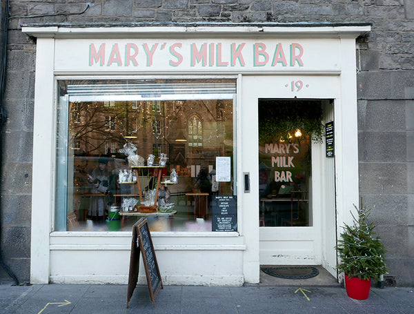 Guide to Edinburgh: Mary's Milk Bar