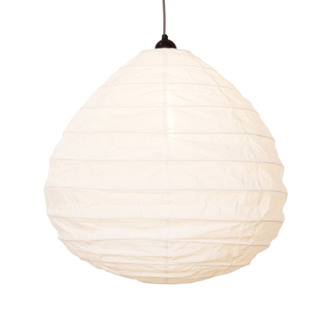 Pear Shaped Cotton Lampshade