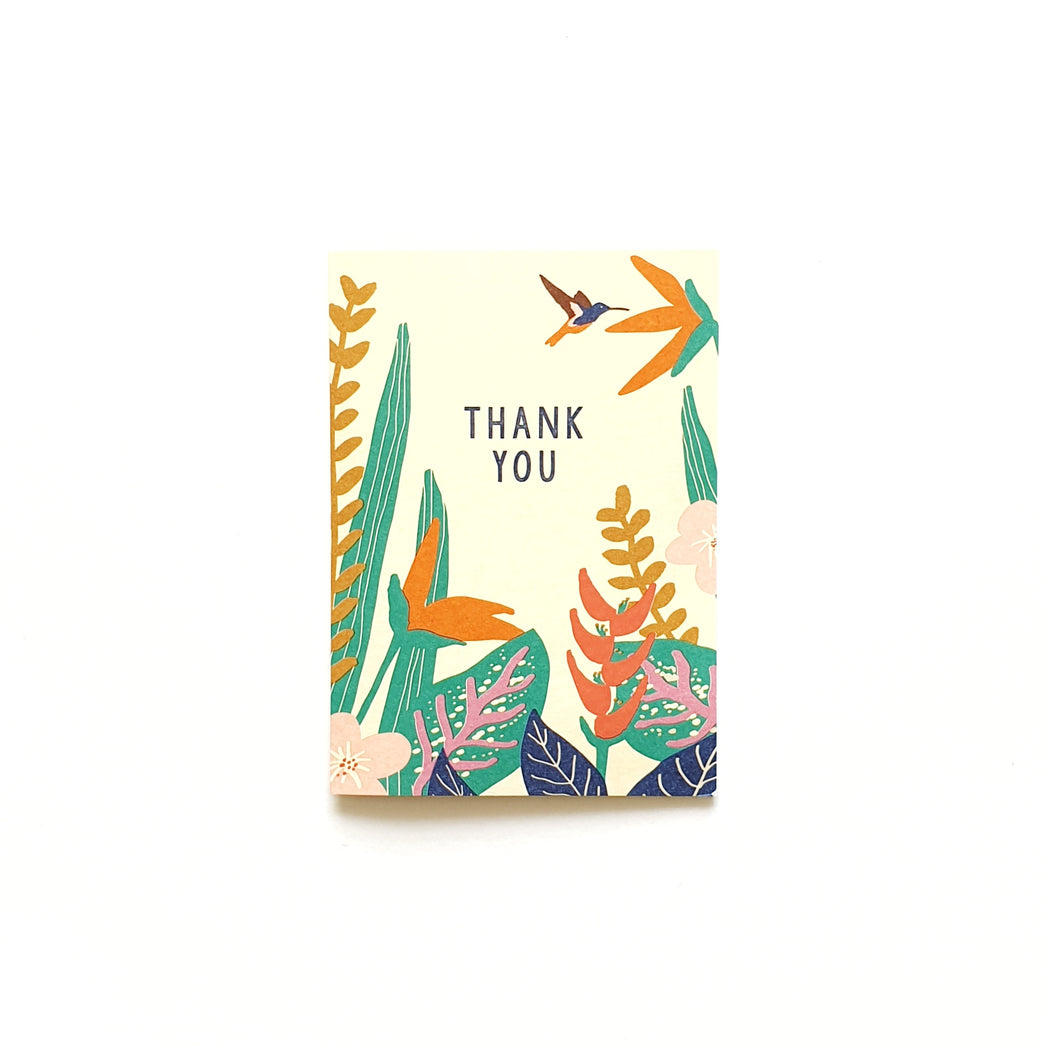 Box of 8 Mini Assorted Thank You Cards