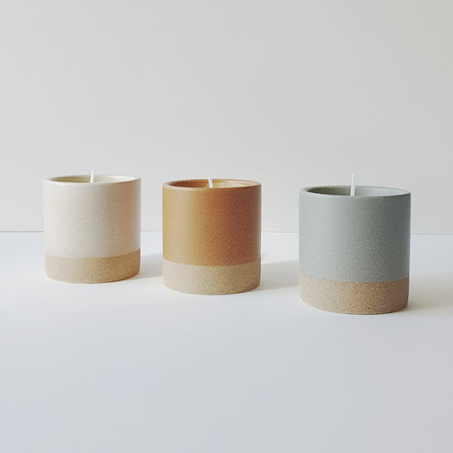 Dipped Ceramic Scented Candles