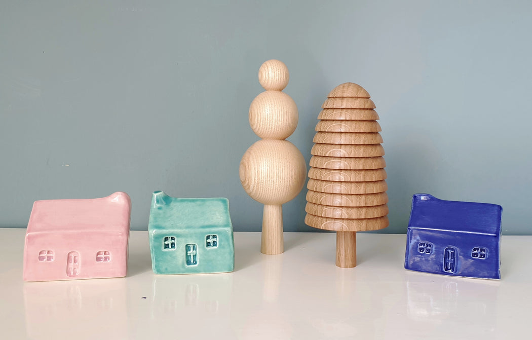 Block Colour Ceramic Bothies