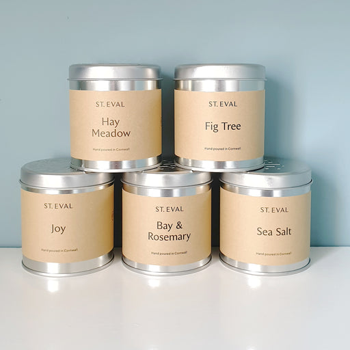 St Eval Tin Candles - Various Scents