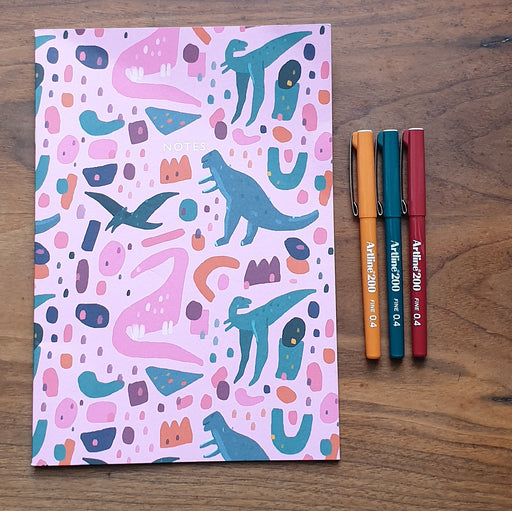 A4ish Dino Notebook