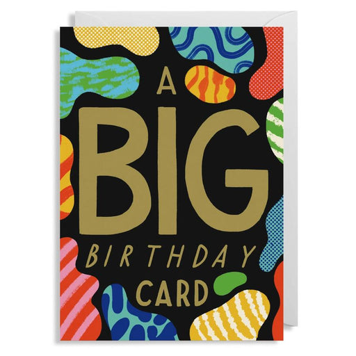 A BIG Birthday Card- Embossed card by Ruby Taylor