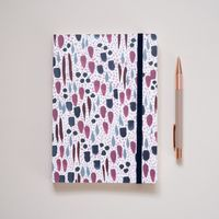 A5 Muted Pattern Notebook