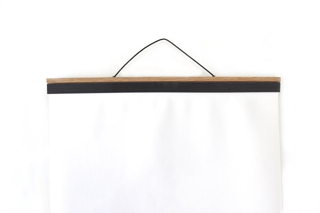 Medium A2 Oak Poster Hanger