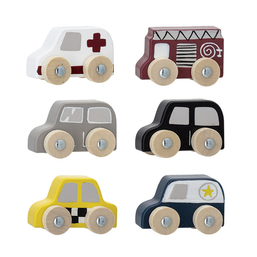 Wooden Car Toy Set