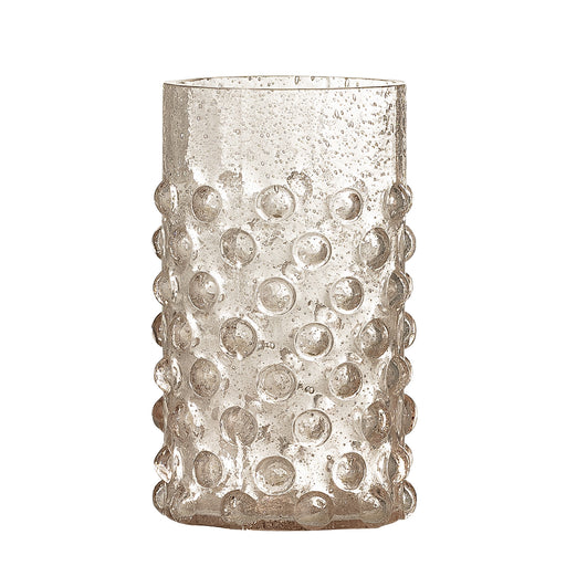 Rose Dotted Water Glass