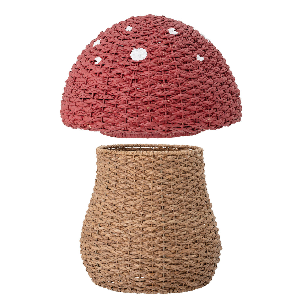 Seagrass Toadstool Storage Basket With Lid