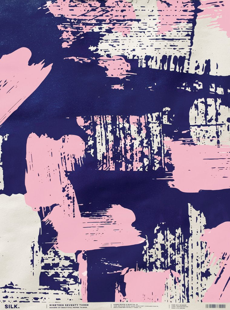 Silk Screen Printed Big Brush Wrap