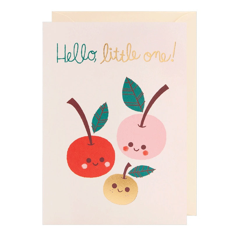 Hello Little One! New Baby Card