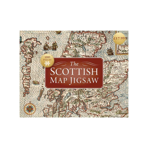 The Scottish Map Jigsaw