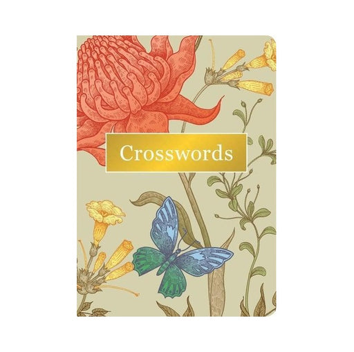 Crossword Floral Puzzle Book