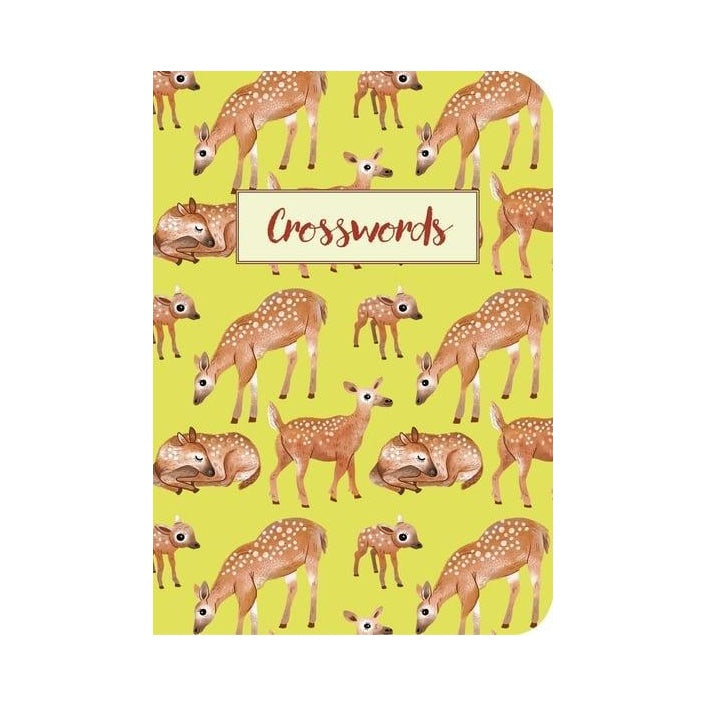 Crosswords Woodland Puzzle Book
