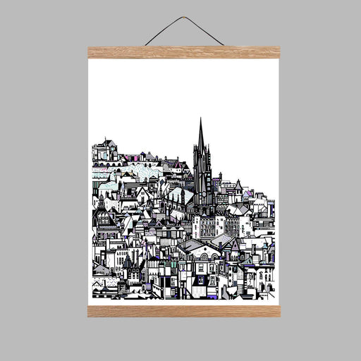 Small Edinburgh City Print